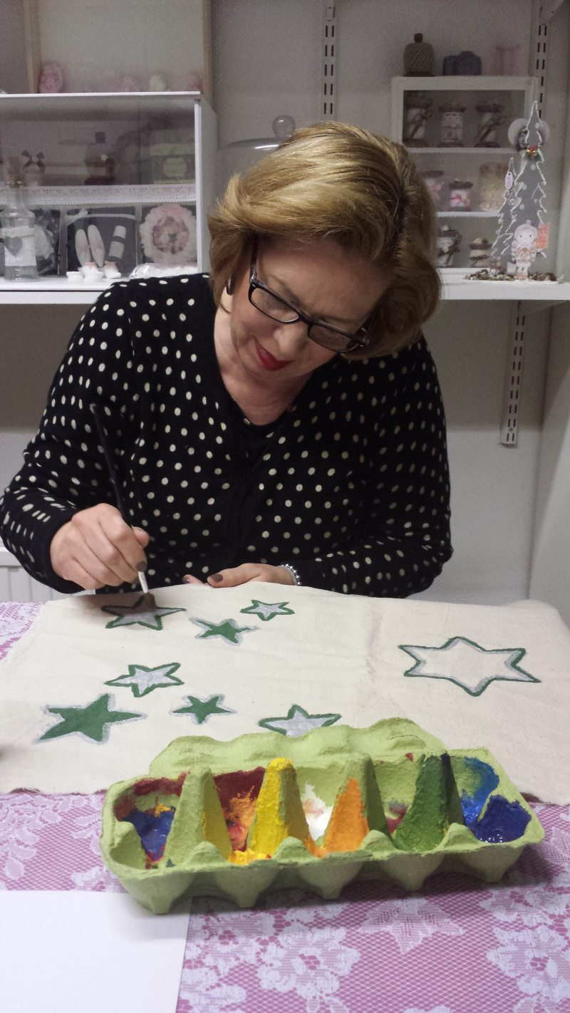 workshop textiel beschilderen