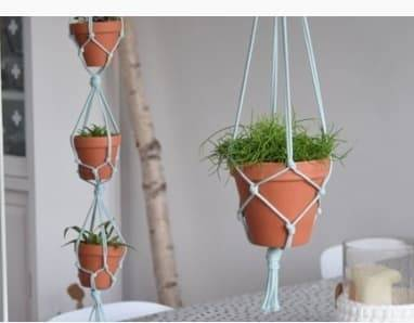 Workshop Macrame planten hanger maken
