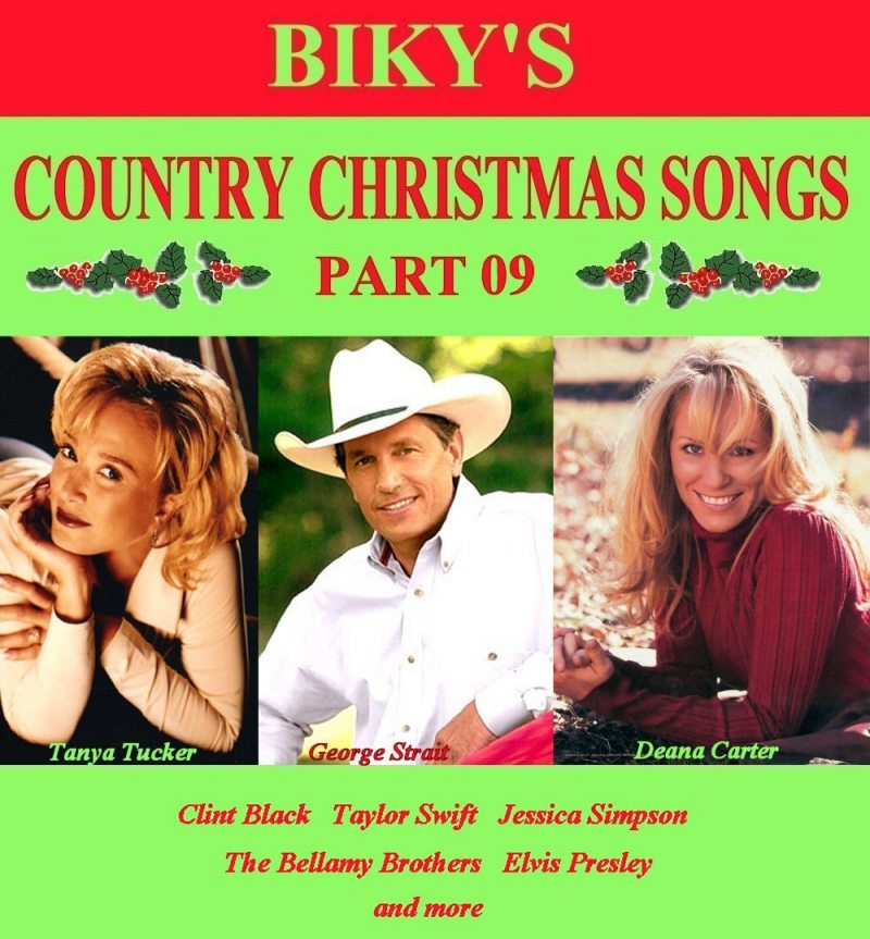 biky 39 s country christmas songs 50cds compleet dj for country music christmas - Best Country Christmas Songs