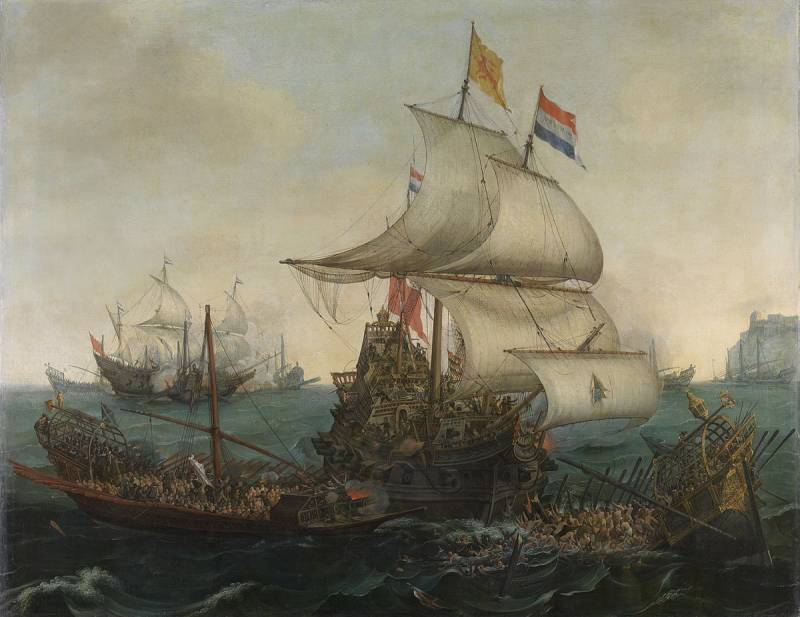 1200px-Vroom_Hendrick_Cornelisz_Dutch_Ships_Ramming_Spanish_Galleys_off_the_Flemish_Coast_in_October_1602.jpg