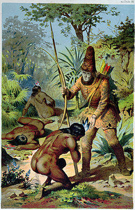 266px-Robinson_Crusoe_and_Man_Friday_Offterdinger.jpg