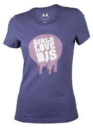 Shirts girls love dj's