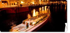 Candle-light cruise Haarlem