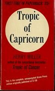 TROPIC OF CAPRICORN (SOFTCOVER), Miller, Henry