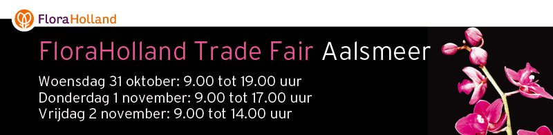 FloraHolland Trade Fair Aalsmeer