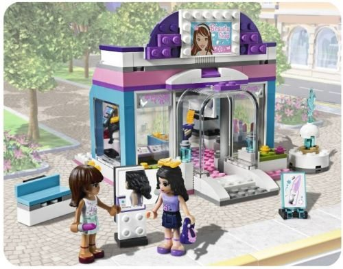 Schoonheidssalon dozen for Lego friends salon de coiffure