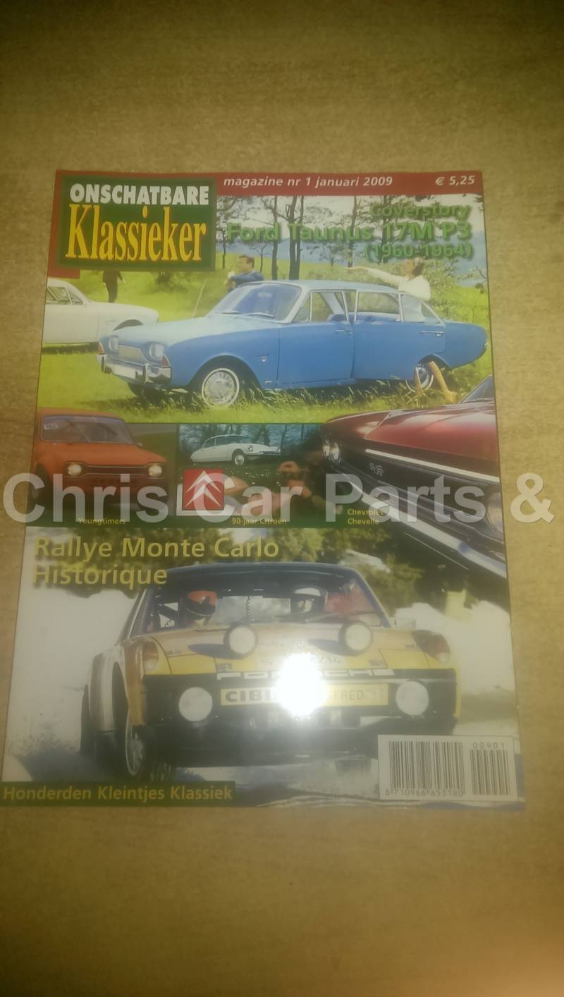Auto tijdschrift met o.a Ford Taunus 17M P3 & Ford Escort mk1