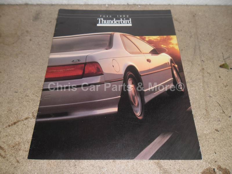 Ford Thunderbird 1992 brochure