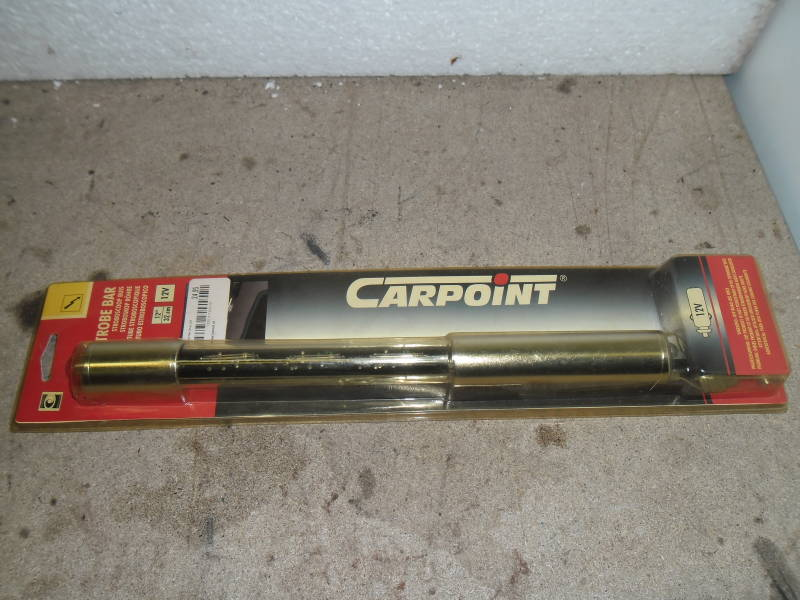 Carpoint Strobe bar