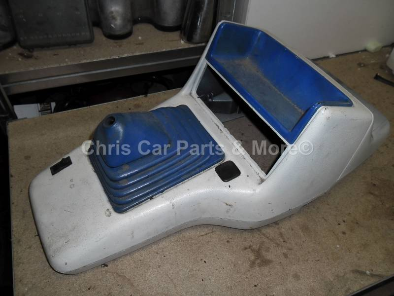 Ford Fiesta mk3 midden console luxe wit ( gespoten wit )