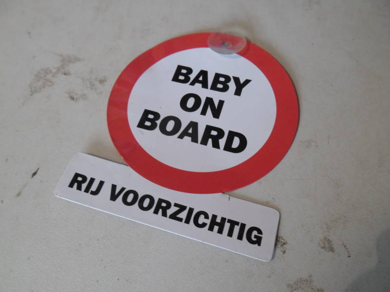 Baby on board bordje