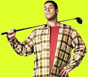 Adam Snadler Happy Gilmore 1996 Komedie Golf