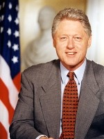 Bill clinton president van amerika in 1992