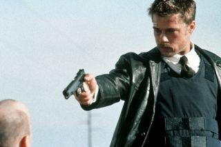 Se7en met Brad Pitt Kevin Spacy en Morgan Freeman uit 1995