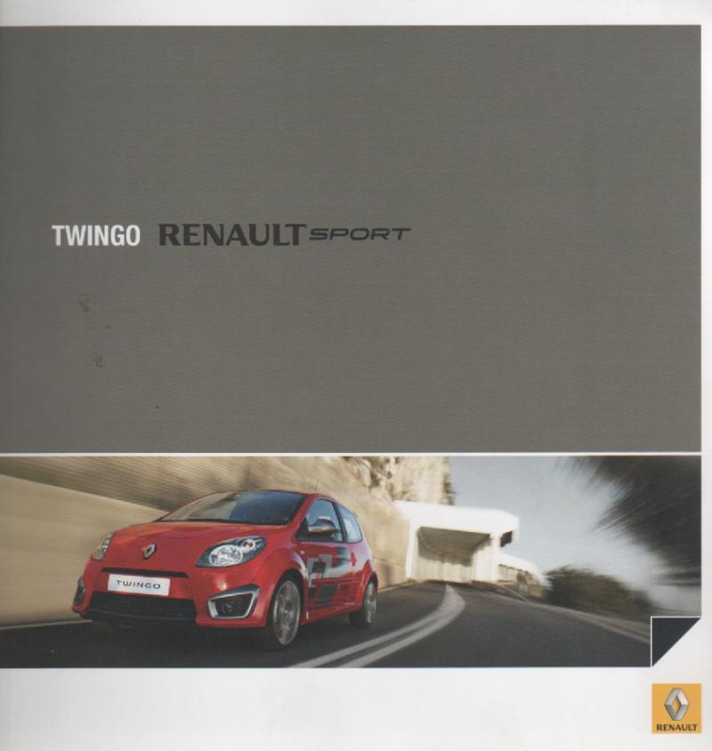 twingo mk 2 renault mijn brochures r autobrochures n. Black Bedroom Furniture Sets. Home Design Ideas
