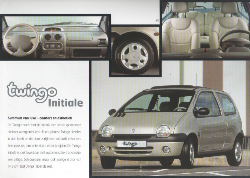 twingo mk 1 renault mijn brochures r autobrochures n. Black Bedroom Furniture Sets. Home Design Ideas