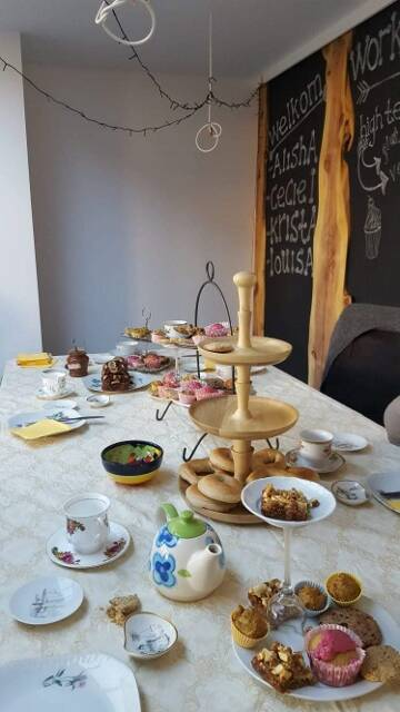 Workshop high tea vegan