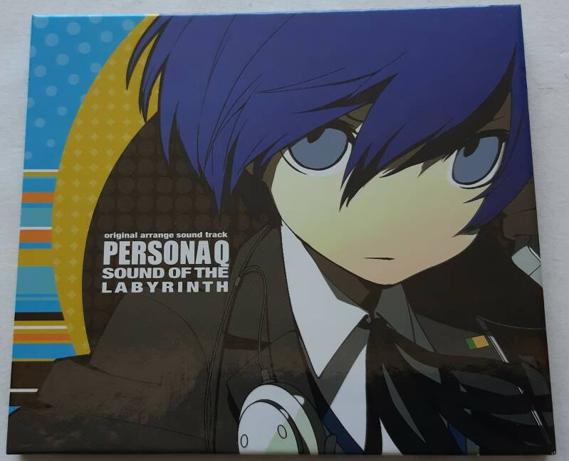3DS - Persona Q Sound of the Labyrinth - Original Arrange Sound Track (NTSC-J)