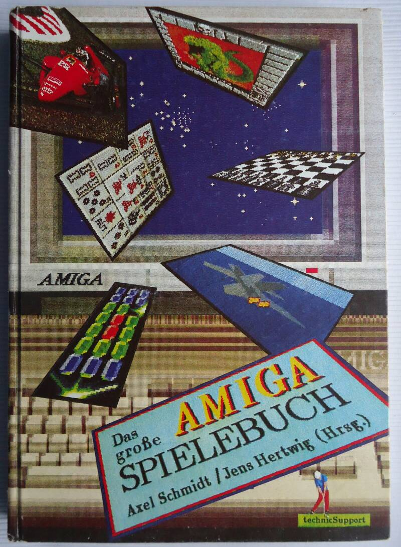 Commodore Amiga - Das grosse Amiga Spielebuch (German)