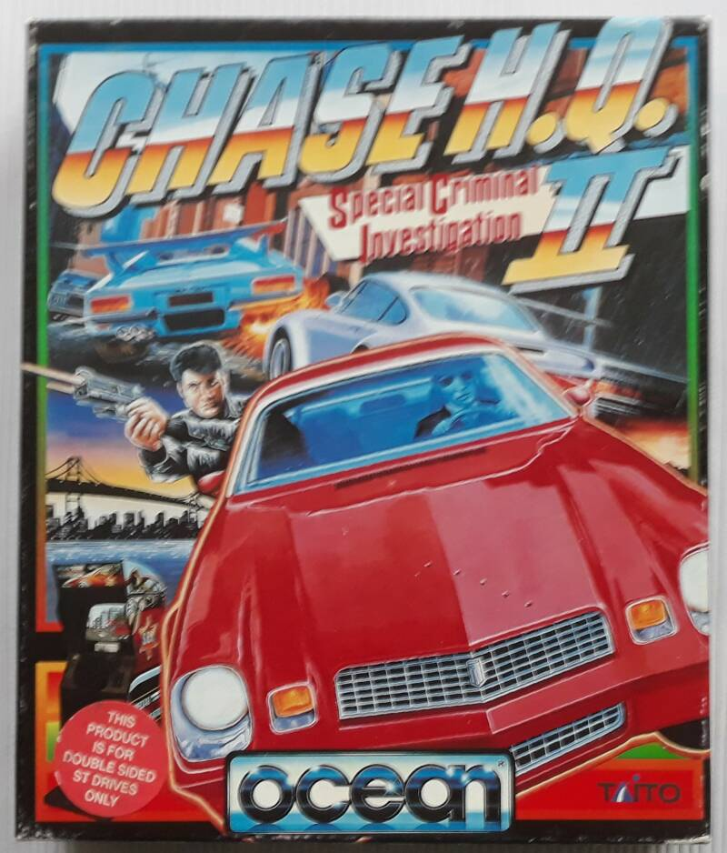 ATARI ST - Chase H.Q. II: Special Criminal Investigation (European version)