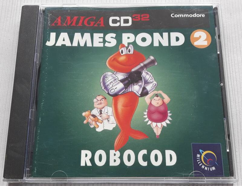 Amiga CD32 - James Pond 2: RoboCod (PAL)