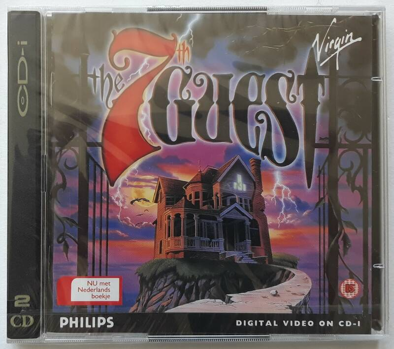 CD-i - 7th Guest, The (PAL) factory sealed
