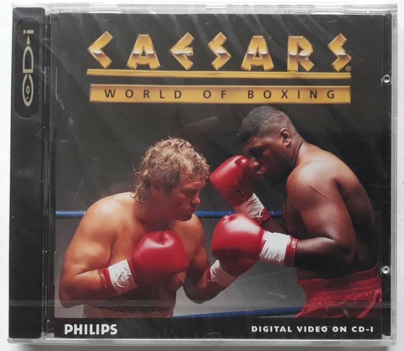 CD-i - Caesar's World of Boxing (PAL) factory sealed