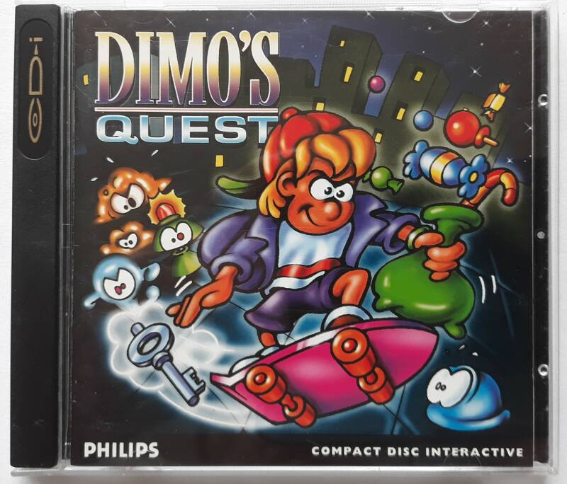 CD-i - Dimo's Quest (PAL)