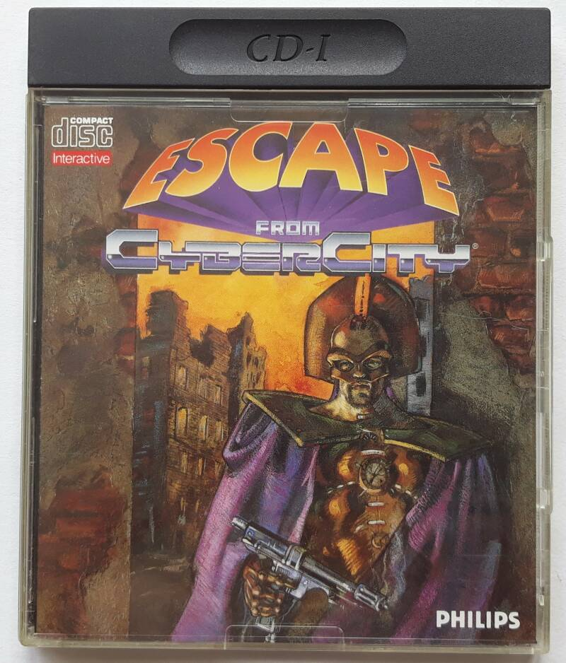 CD-i - Escape from Cyber City (PAL)