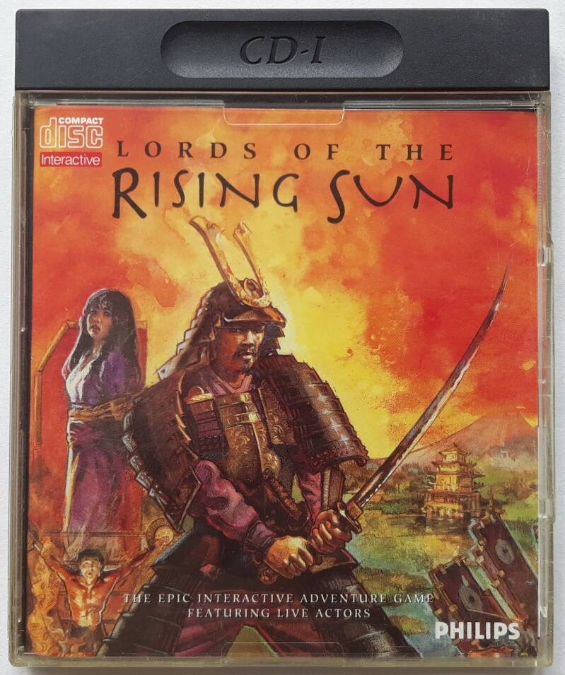 CD-i - Lords of the Rising Sun (PAL)