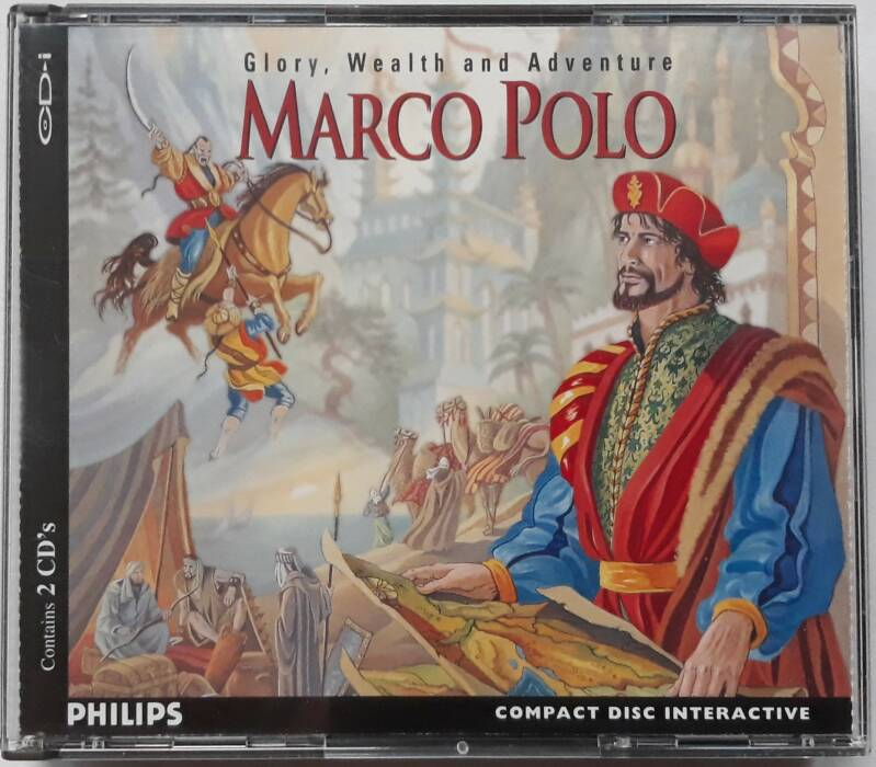 CD-i - Marco Polo w/ map (PAL)