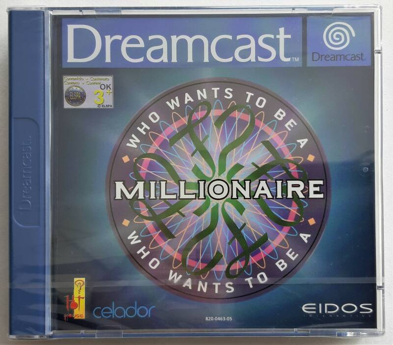 Dreamcast - Who Wants To Be a Millionaire (PAL) factory sealed