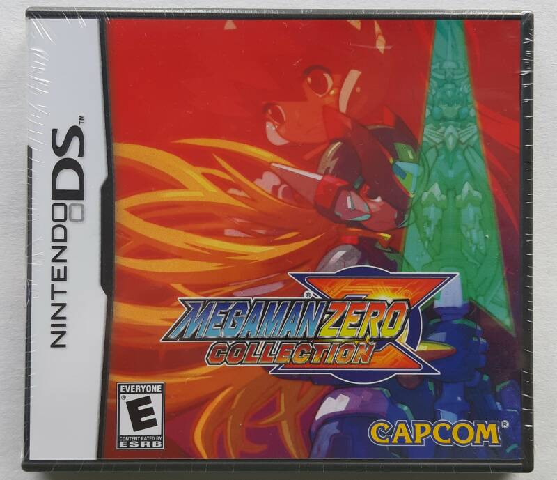 DS - Mega Man Zero Collection (NTSC, region free) factory sealed
