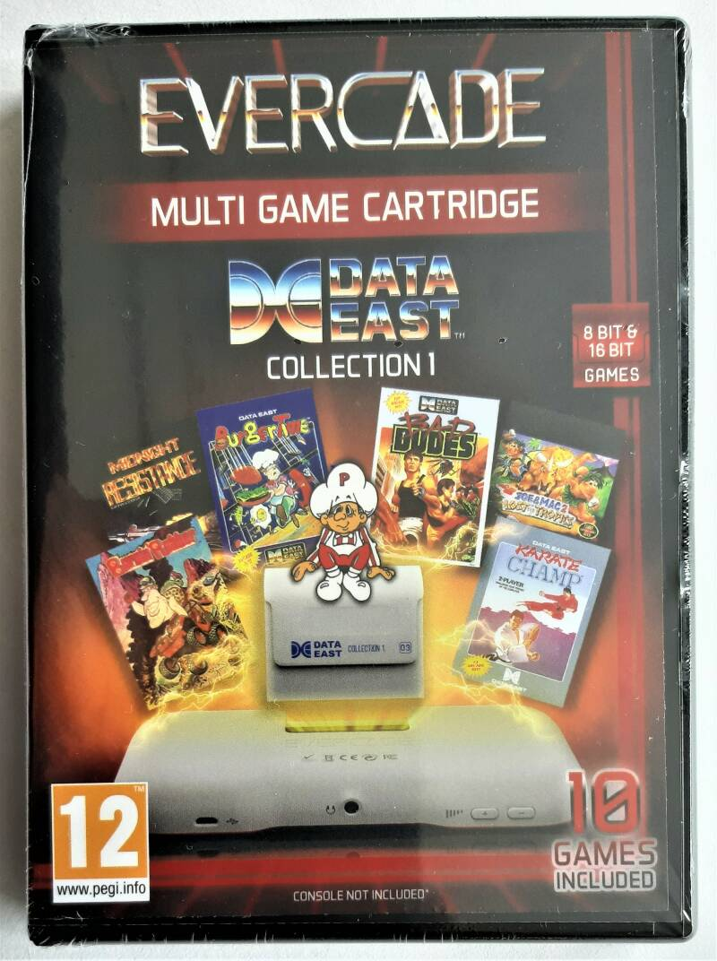 Evercade - Data East Collection 1 (first run) factory sealed