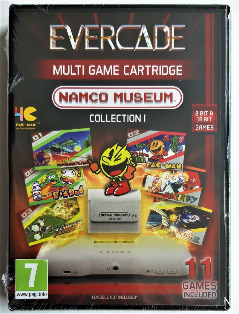 Evercade - Namco Museum Collection 1 (first run) factory sealed