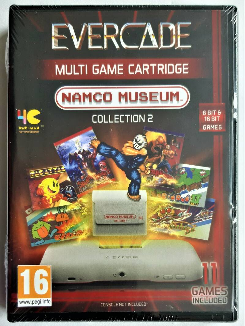 Evercade - Namco Museum Collection 2 (first run) factory sealed