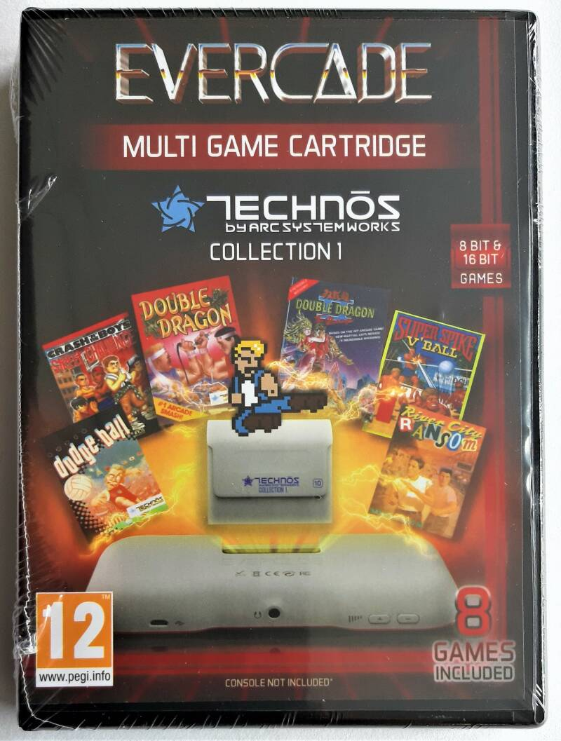Evercade - Technos Collection 1 (first run) factory sealed