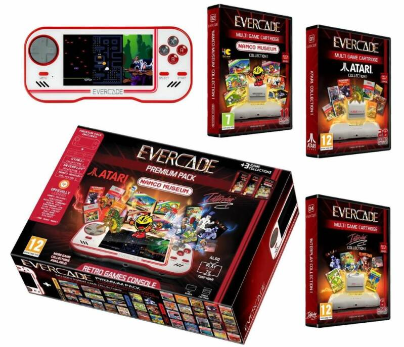 Evercade - Premium Pack console w/ 37 games (first run) factory sealed