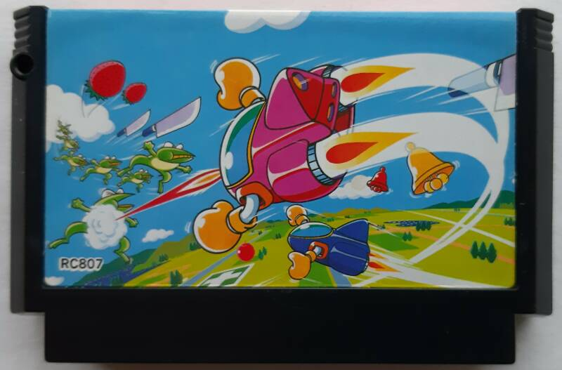 Famicom - TwinBee (NTSC-J) cart