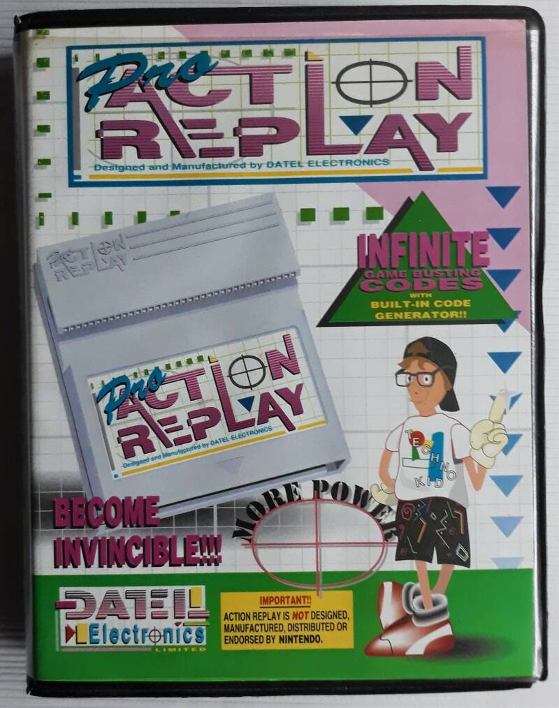 Game Boy - Action Replay Pro