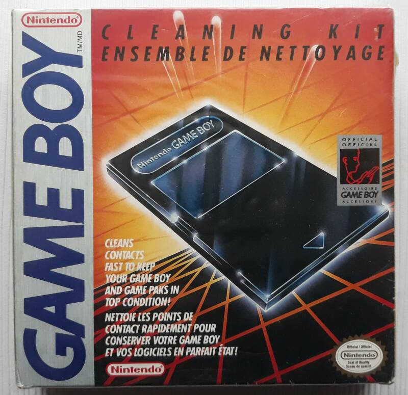 Game Boy - Cleaning Kit (factory sealed)