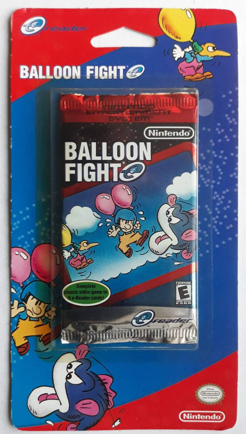 Game Boy Advance - Balloon Fight (for e-Reader, NTSC) factory sealed