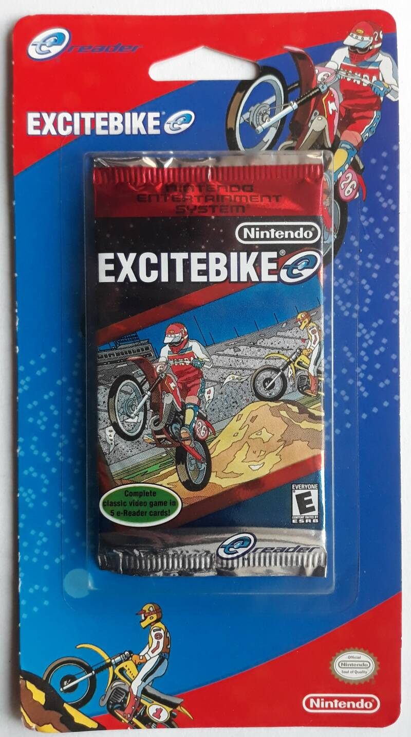 Game Boy Advance - Excitebike (for e-Reader, NTSC) factory sealed