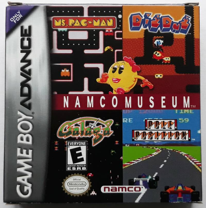 Game Boy Advance - Namco Museum (NTSC, region free)