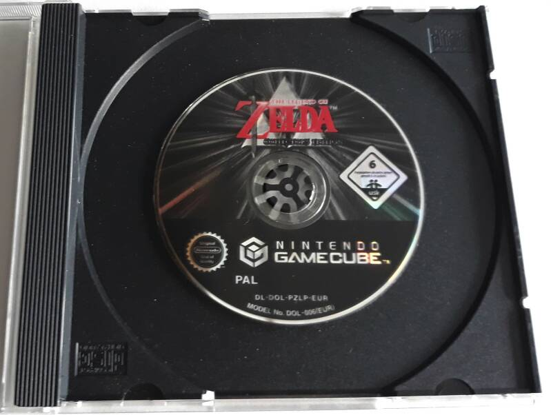 Gamecube - Legend Of Zelda Collector's Edition, The (PAL) disc