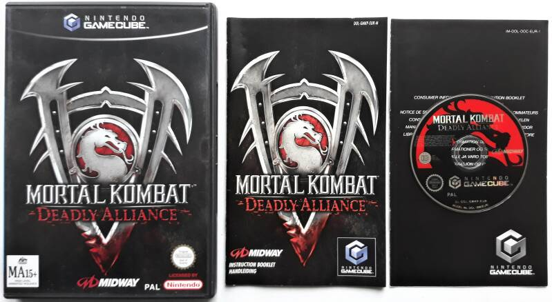 Gamecube - Mortal Kombat: Deadly Alliance (PAL) EUR