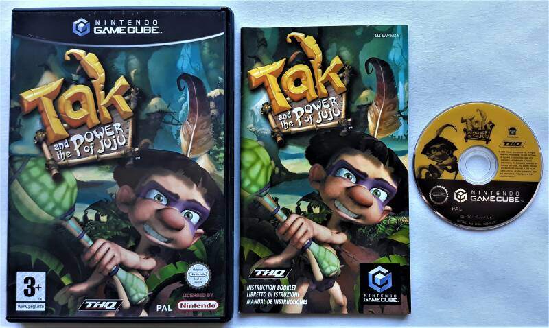 Gamecube - Tak and the Power of Juju (PAL) EUR