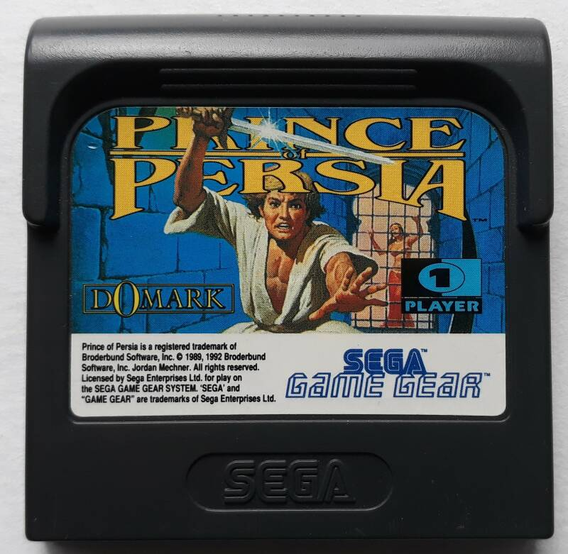 Game Gear - Prince of Persia (region free) cart