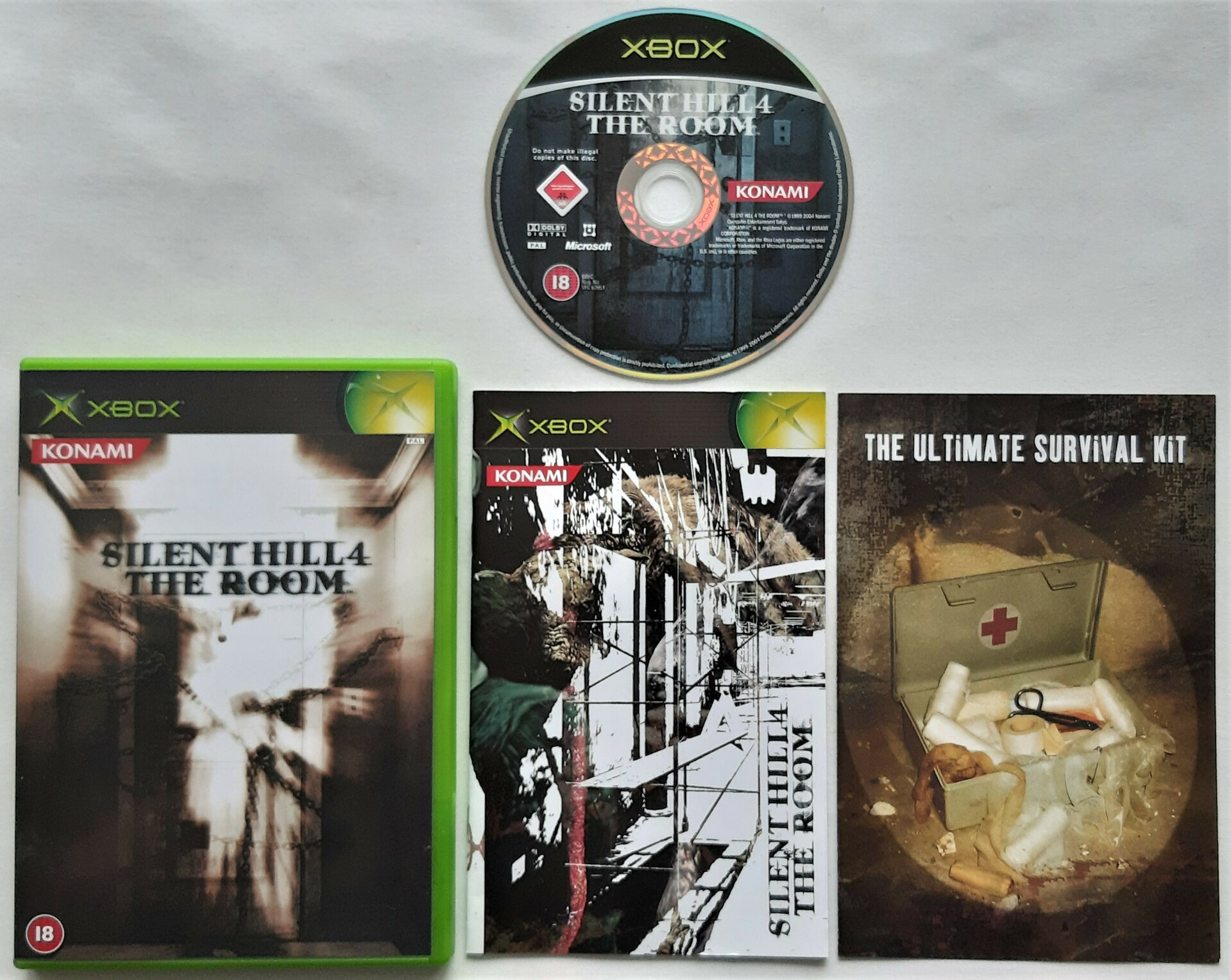 Xbox Silent Hill 4 The Room Pal Vinjat Video Games
