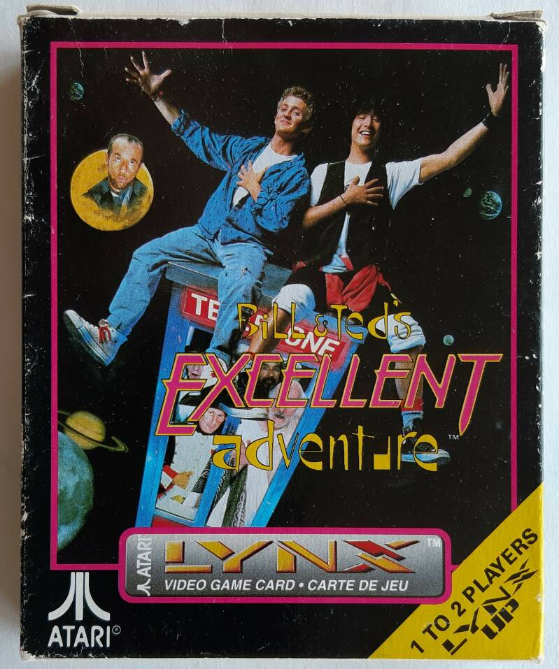 Lynx - Bill and Ted's Excellent Adventure (region free)